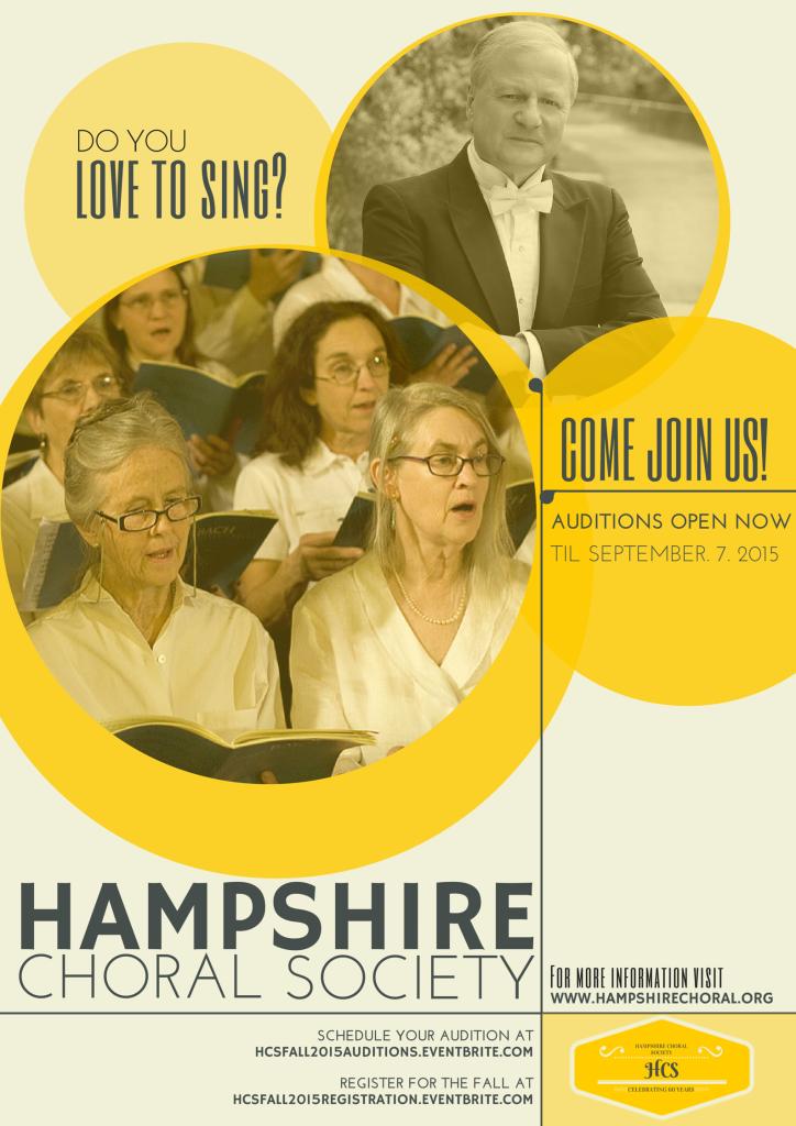 Hampshire Choral Society Poster